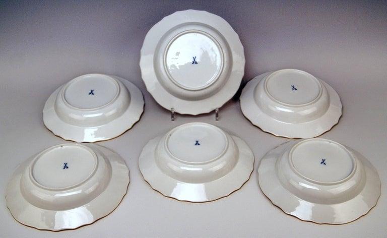 Meissen Dinner Service Set Neubrandenstein 6 Persons Kaendler Eberlein 23 Parts For Sale 4
