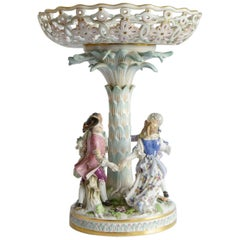 Meissen Group Antique Porcelain