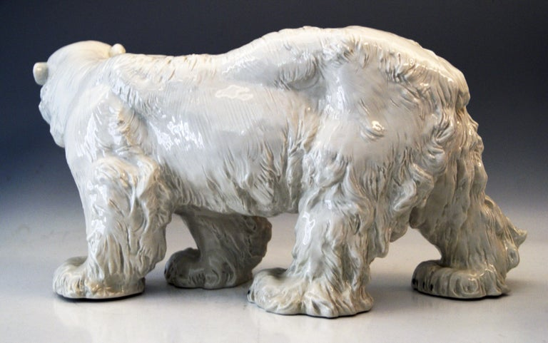 Other Meissen Ice Bear Animal Figurine Model T 181 Jarl Otto Made, circa 1935 For Sale