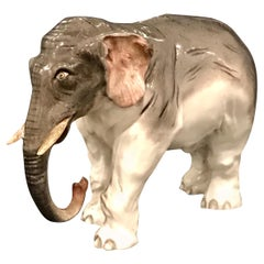 Meissen Model of an Elephant