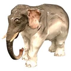 Meissen Model of an Elephant