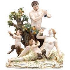 Meissen Porcelain Bacchanalian Group