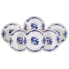 Meissen Porcelain 'Blue Dragon' Scalloped Dinner Plates