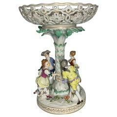 Meissen Porcelain Compote Centerpiece