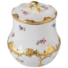 Meissen Porcelain Cookie Jar
