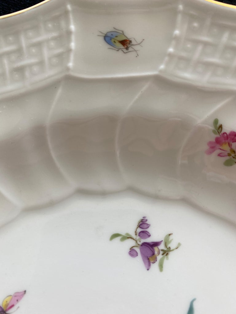 Painted Meissen Porcelain, Pair of