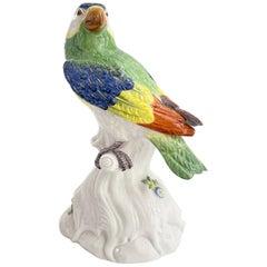 Meissen Porcelain Parrot
