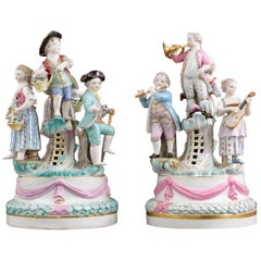 Meissen Porcelain Revelry Groups