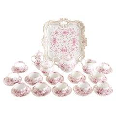 Meissen Porcelain Tea / Coffee Service / 12 People