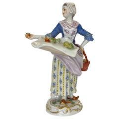 Meissen Porcelain 'The Apple Seller', c. 1920