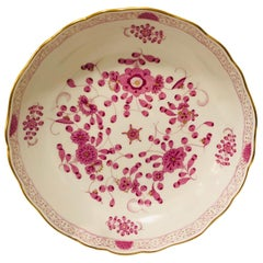 Meissen Purple Indian Serving Bowl