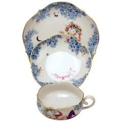 Meissen Tea Set C Decor 680691 Summer Night's Dream by Heinz Werner
