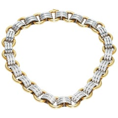 Meister Necklace Gold and Diamonds