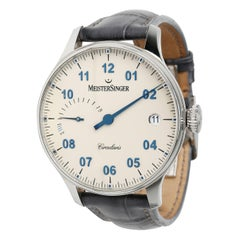 MeisterSinger Circularis CCP303 Men's Watch in Stainless Steel