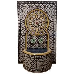 Meknes Moroccan Mosaic Fountain, All Mosaics