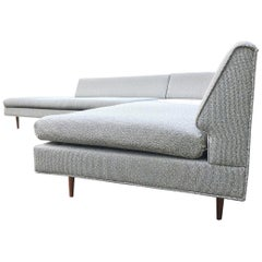 Mel Abitz for Galloway Furniture angled Sectional Sofa