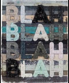 Blah Blah Blah - Mel Bochner