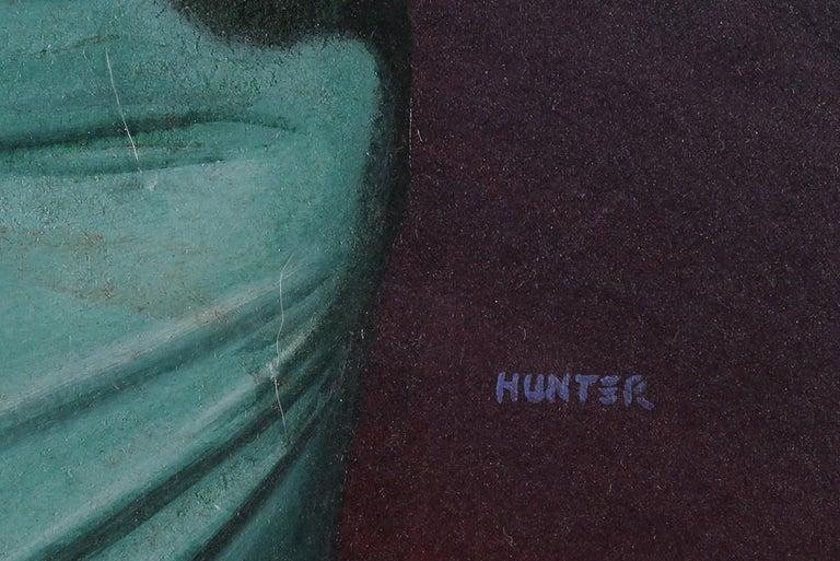 The Broken Angel - Painting by Mel Hunter