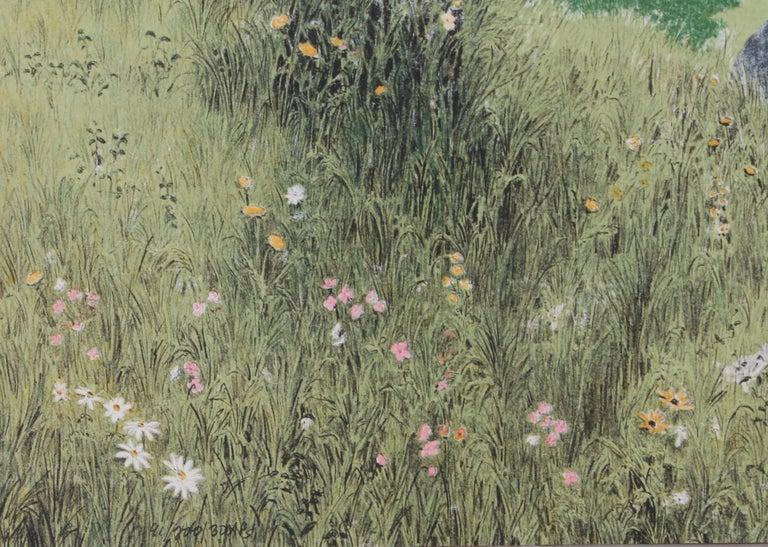 Alone Together - American Impressionist Print by Mel Hunter