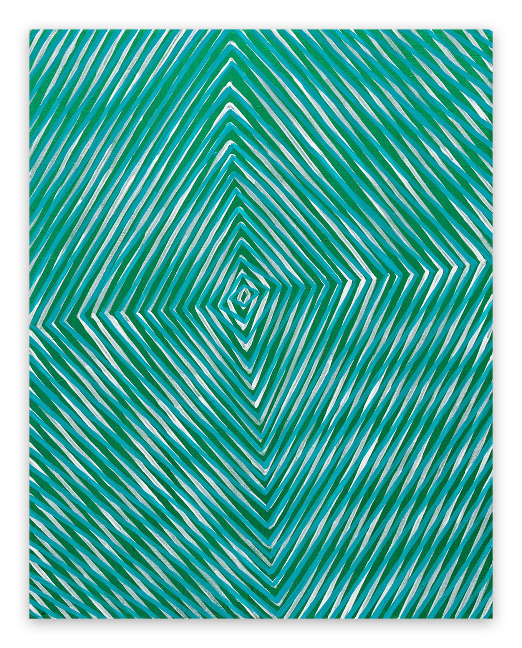 Ocean Forest Sound (Abstract Painting)
