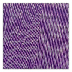 Violet Winds (Abstract painting)