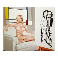 Drawing Lesson / Tea at 5 pm, Pop Art, Contemporary Art, Nude