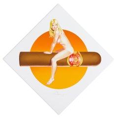 Hav-A-Havana 3, Pop Art, Nude, American Artist, 20th Century