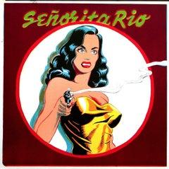 Señorita Rio, 1964 Limited Edition Lithograph, Mel Ramos