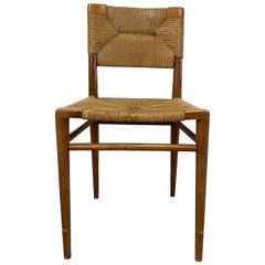 Mel Smilow Rush and Walnut Dining Chair