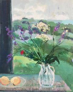 Emerald Hill, impressionist interior and still life painting