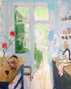 Every Summer, impressionist interior and still life painting