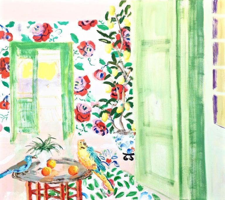 """Melanie Parke Interior Painting - """"Way to the Lemon Grove"""""""