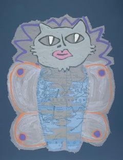 From the Metamorphosis Series by Melanie Yazzie, monotype on handmade paper