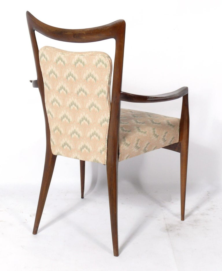 Melchiorre Bega Italian Dining Chairs 12 Available In Good Condition For Sale In Atlanta, GA