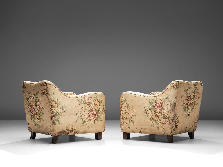 Art Deco Melchiorre Bega Pair of Armchairs, 1935 For Sale