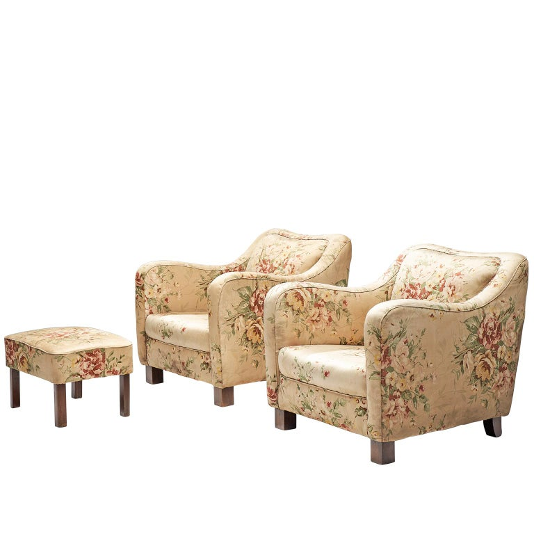 Melchiorre Bega Pair of Armchairs, 1935 For Sale