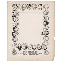 Melies General Films 1900s U.S. Ad Slick