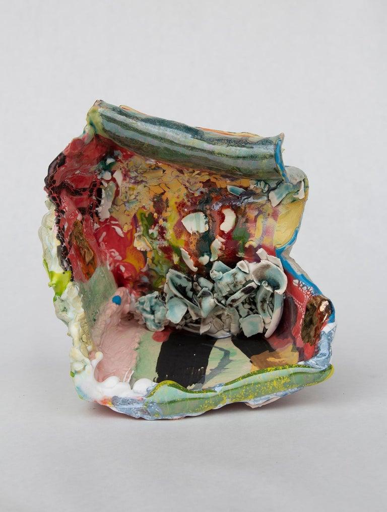 Melinda Laszczynski Abstract Sculpture - Slip n Slide
