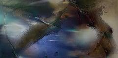 Rift Valley, Sonde 5  (romanticism tonal nature organic copper abstract texture)