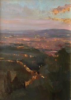 Nightfall Over Florence