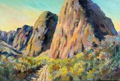 Road through Time, Original Painting