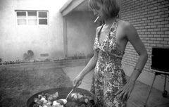 Sarah's BBQ, Fourth of July, Albuquerque, NM, 1995