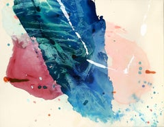 Beyond The Overcast Sky, Painting, Acrylic on Canvas