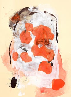 Orange Blossom, Painting, Acrylic on Paper