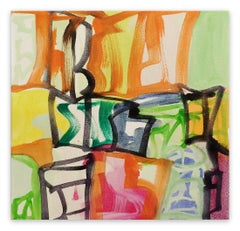 Capital B (Abstract Expressionism painting)