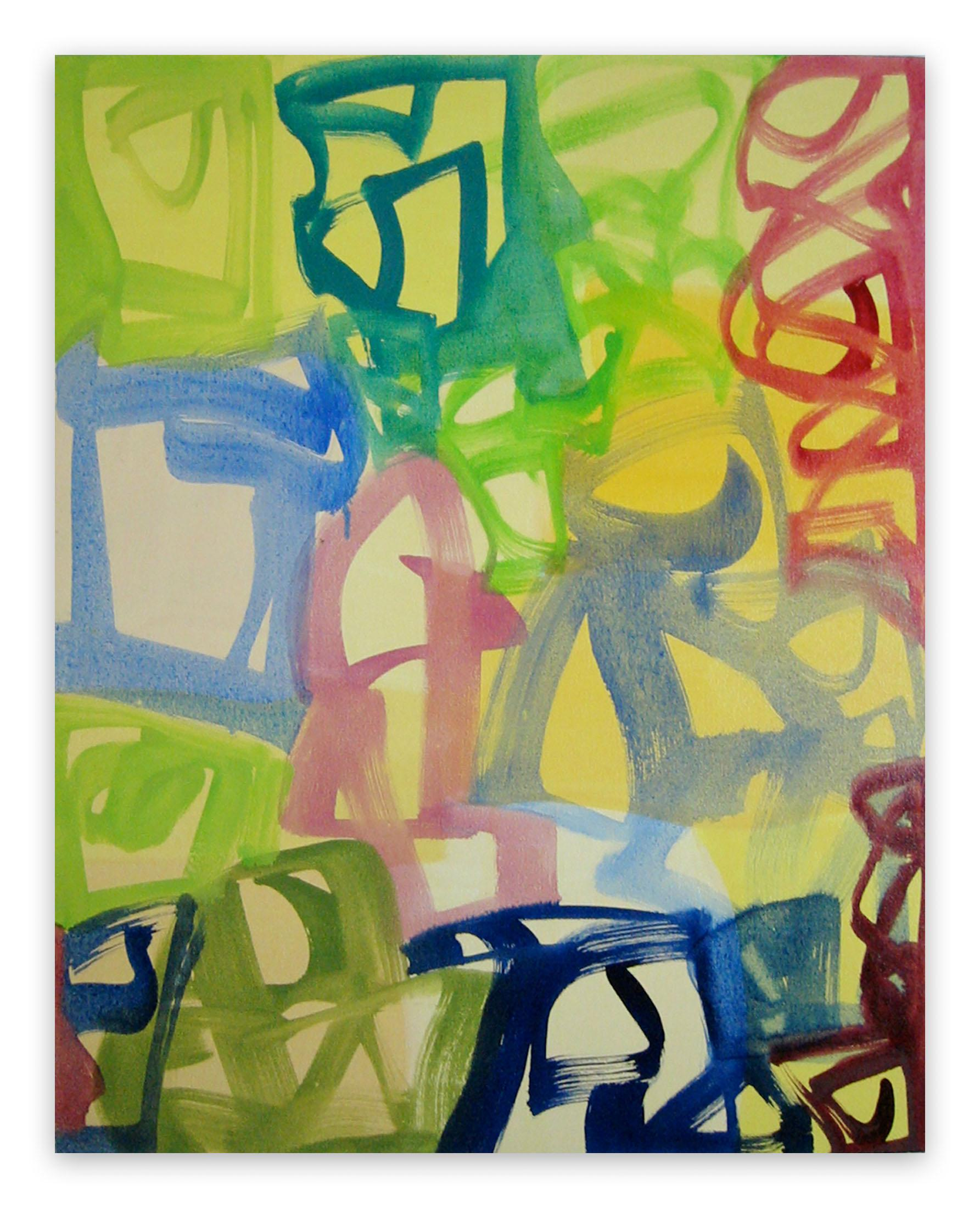 Vernal (Abstract Expressionism painting)