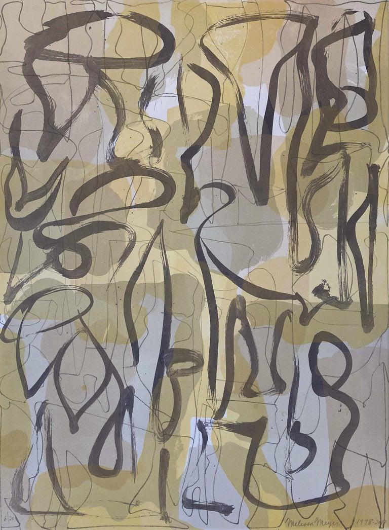 Melissa Meyer Abstract Print - Wilde IV