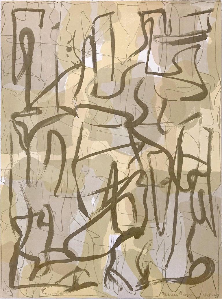 Melissa Meyer Abstract Print - Wilde V