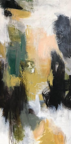 Allure II by Melissa Payne Baker, Large Mixed Media on Canvas Abstract Painting