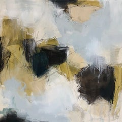 Connect by Melissa Payne Baker, square Abstract Contemporary Canvas Painting
